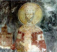 Icon of Bagrat III king of Georgia