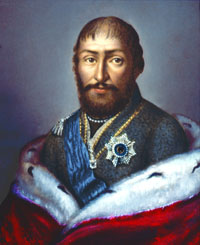 Portrait of King Giorgi XII