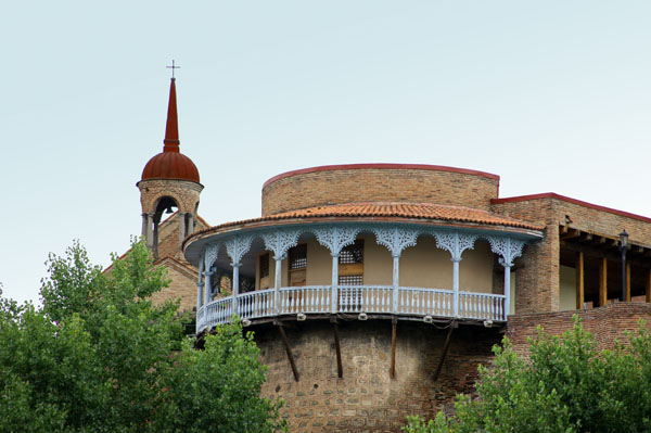 The upper Palace in capital Tbilisi